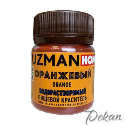 Оранжевый сухой краситель Guzman home в/р, 5 г