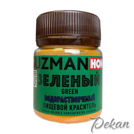 Зеленый сухой краситель Guzman home в/р, 5 г