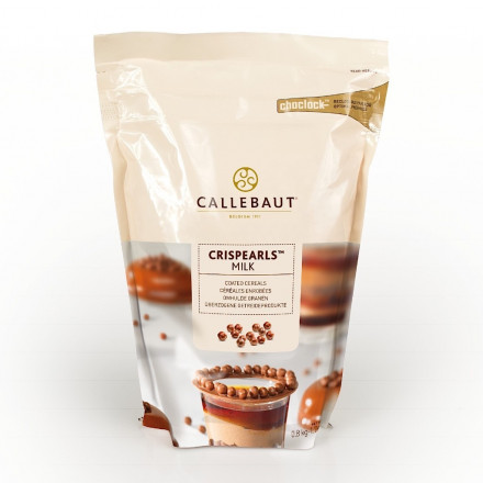 Драже молочный шоколад Callebaut Crispearls, 800 г (CEM-CC-M1CRIE0-W97)