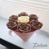 Молд силиконовый 3D Чайная роза №154