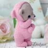 Молд силиконовый 3D Мишка в пижаме №411