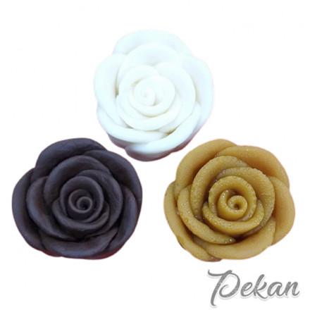 Молд силиконовый 3D Роза №46
