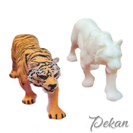Молд силиконовый 3D Тигр №730