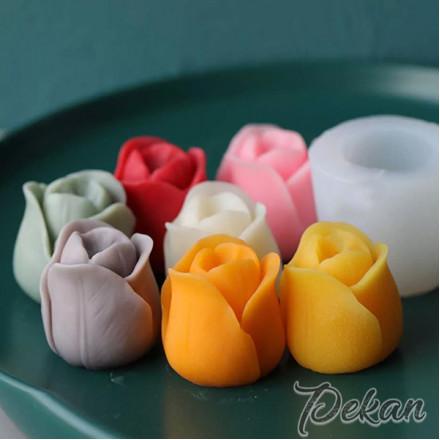 Молд силиконовый 3D Тюльпан №67