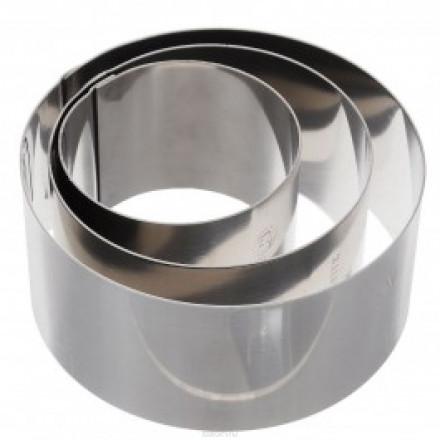 Набор металлических форм Круг 3 шт, 6-10 см