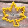 Вырубка для пряников Кленовый лист, 11 см