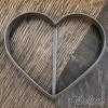 Вырубка для пряников Сердце, 10 см