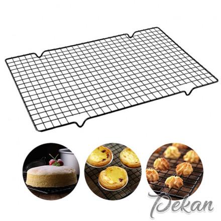 Решетка для глазирования кондитерских изделий 25х40х1,5 см