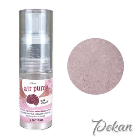 Блестящий краситель сухой с распылителем Розовый Il Punto, 10 г