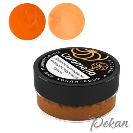 Оранжевый сухой краситель Caramella ж/р, 10 г