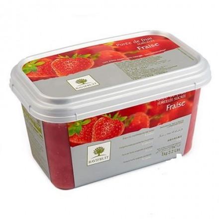 Пюре замороженное Клубника Ravifruit, 1 кг
