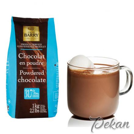 Какао-порошок для горячего шоколада 32% Cacao Barry 1 кг