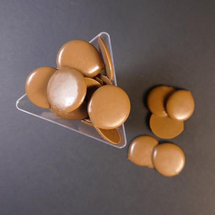Глазурь молочная в дисках Шокомилк, 1 кг