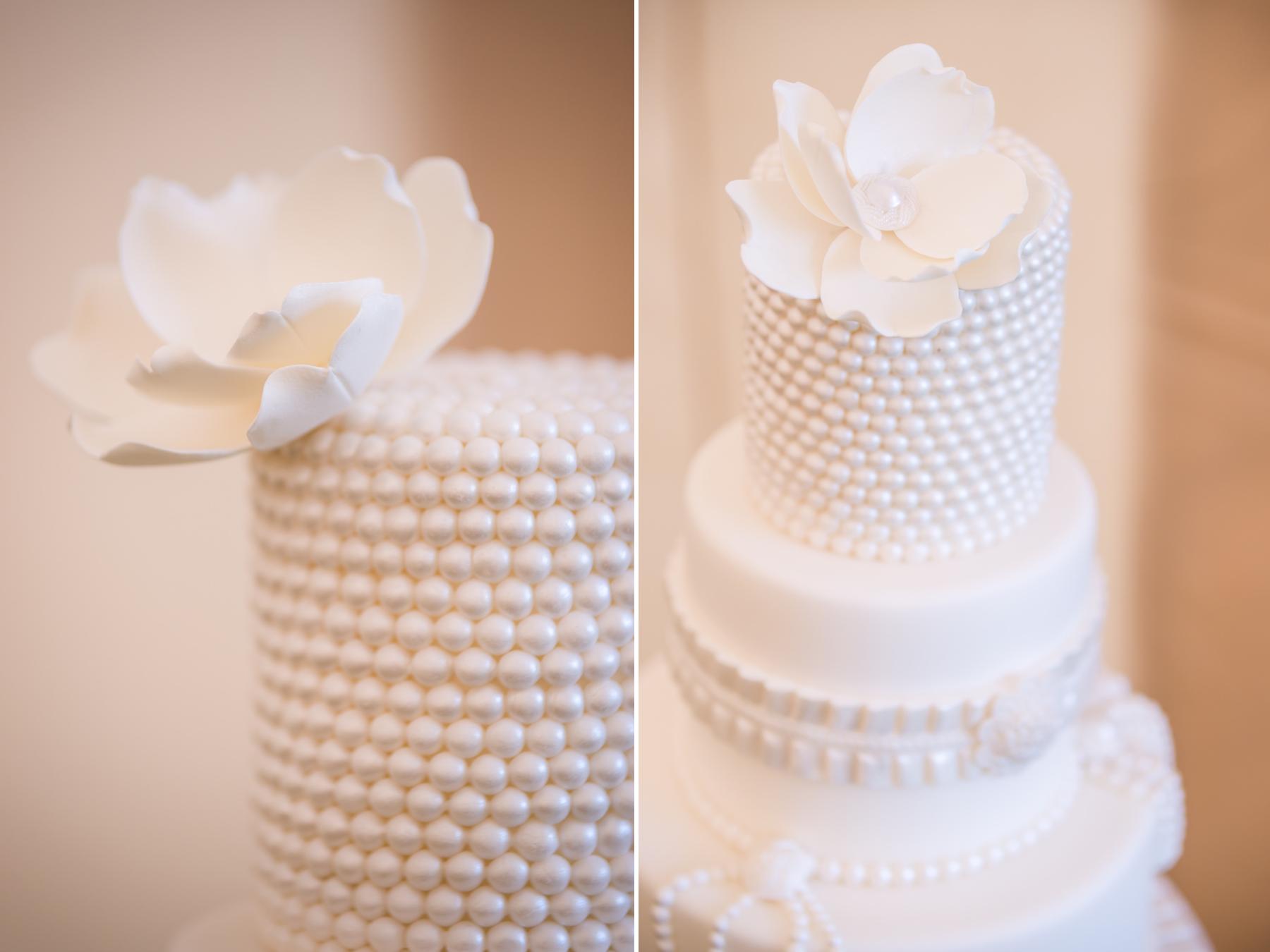Посыпка декоративная белый жемчуг для свадебного торта