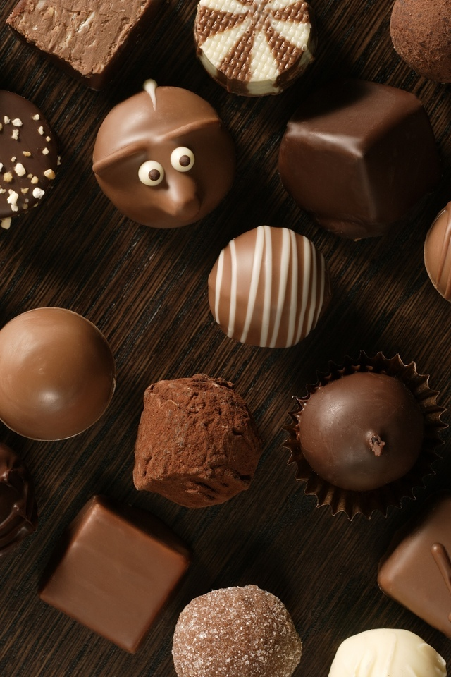 Поликарбонатные формы для конфет